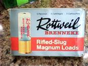 ROTTWEIL Ammunition RIFLED SLUG MAGNUM LOADS 12GA